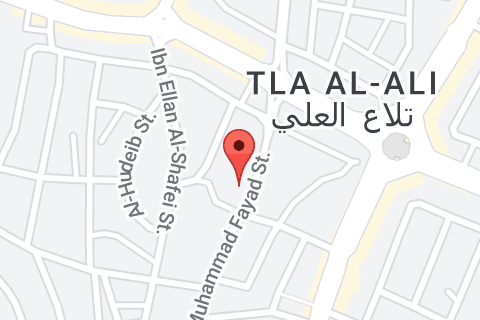 Map of Hotel Ibis Amman